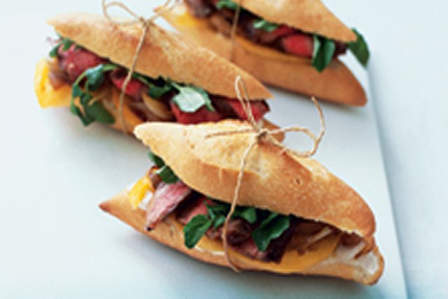 Simply Delicious Grilled Steak Sandwich Image 1
