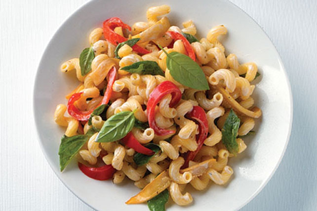 Roasted Vegetable Pasta Salad Image 1