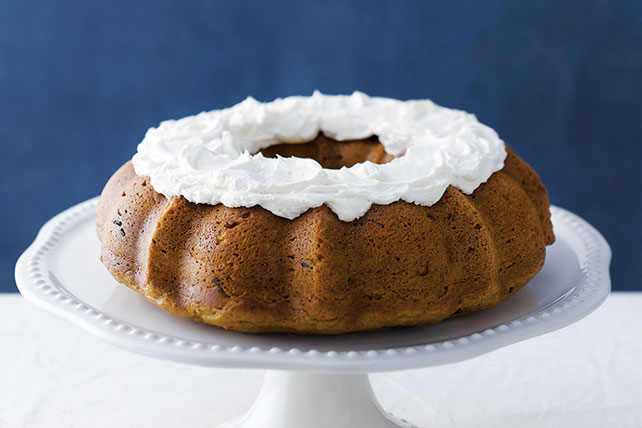 Spicy Pumpkin Cake with Chocolate Chunks Image 1