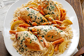 Farmhouse Chicken Dinner Image 1