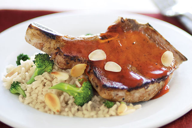 Simply Glazed Pork Chop Dinner Image 1