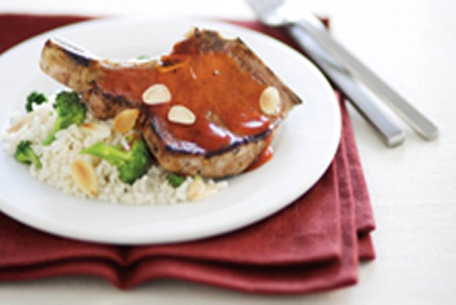 Simply Glazed Pork Chop Dinner