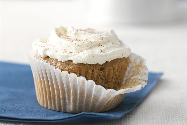 Carrot-Ginger Cupcakes with Spiced Cream Cheese Image 1