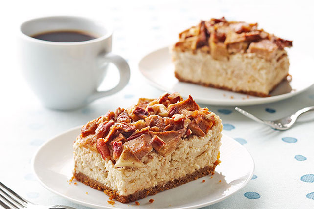 Apple-Pecan Cheesecake Recipe - Kraft Recipes