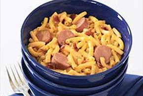 Bacon Dog Mac & Cheese