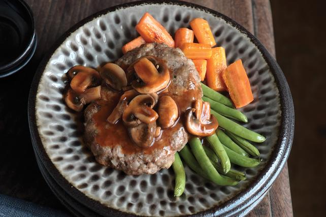 Biftecks Salisbury façon campagnarde Image 1
