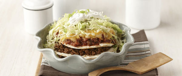 Easy Layered Taco Pie
