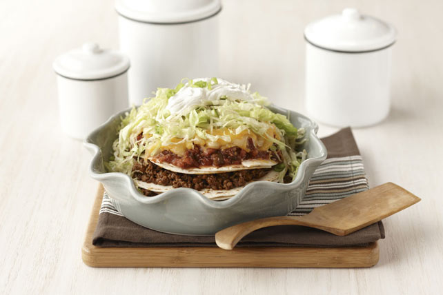 Easy Layered Taco Pie Image 1
