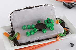 Monster Coffin Cake