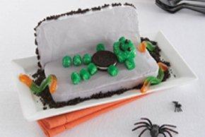 Monster Coffin Cake