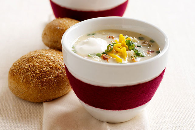"Loaded ""Baked Potato"" Soup"