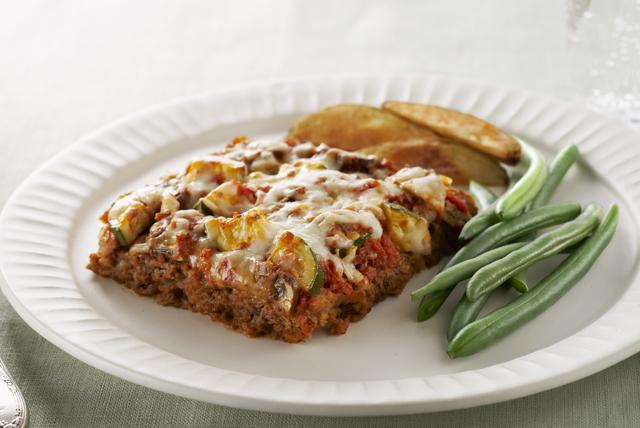 Easy Layered Italian Meatloaf Receta - Comida Kraft