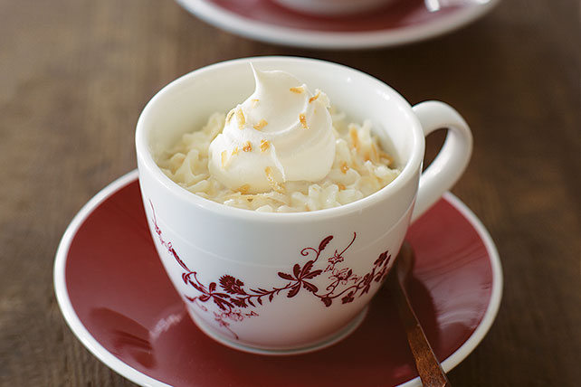 Creamy Coconut Rice Pudding - Kraft Recipes