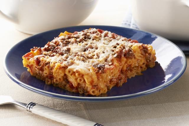 Mac & Cheese Lasagna Receta - Comida Kraft