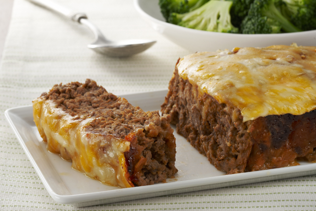 Quick-Fix Cheeseburger Meatloaf Image 1