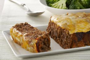 Pain de viande au fromage éclair