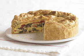 Mediterranean Brunch Pie