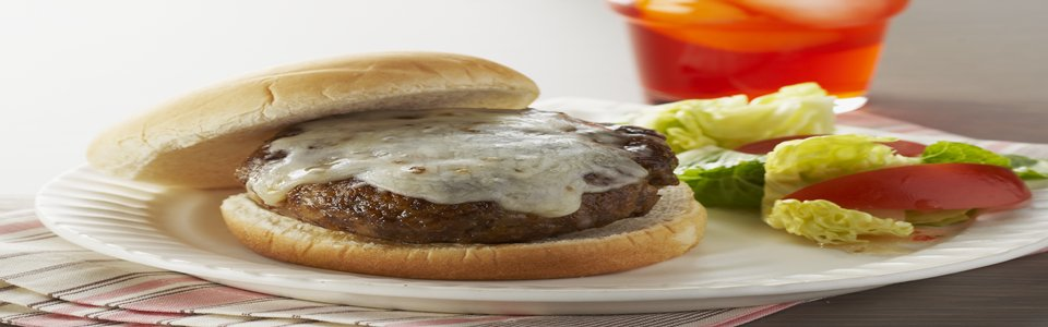 Five-Cheese Skillet Burgers Image 1