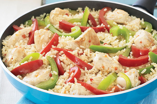 Zesty Chicken and Rice Skillet Recipe