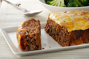 Quick-Fix Cheeseburger Meatloaf