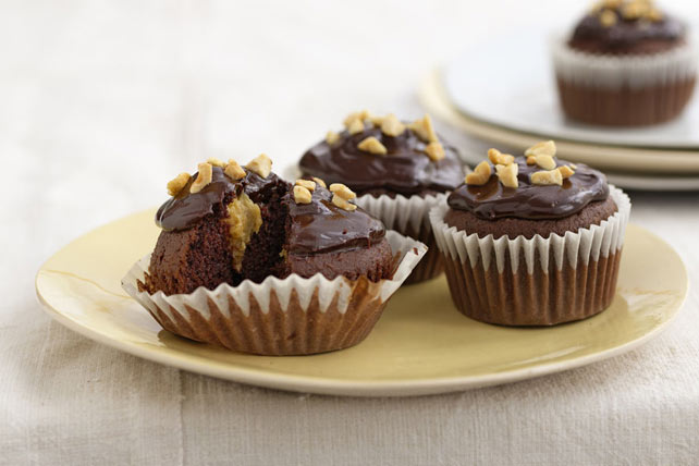 Chocolate-Peanut Butter Cupcakes Image 1