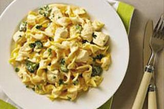 Cheesy Chicken Noodle Skillet Image 1