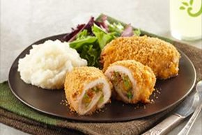 Broccoli-Cheddar Chicken Bundles