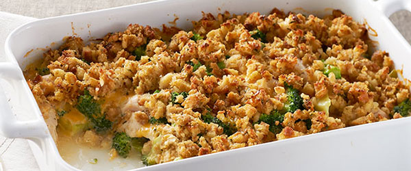 STOVE TOP Easy Cheesy Chicken Bake