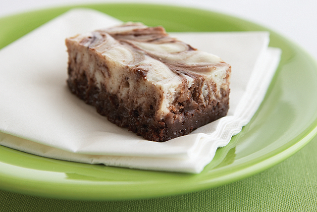 Brownies de cheesecake