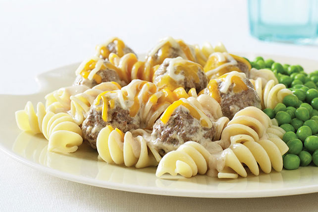 Cheesy Meatball Skillet Image 1