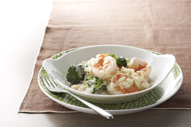 Cheesy Shrimp and Rice Image 1
