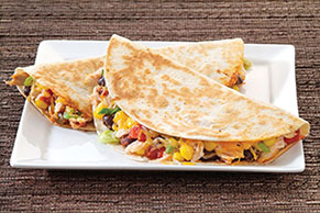 Dinnertime Chicken Quesadilla Recipe