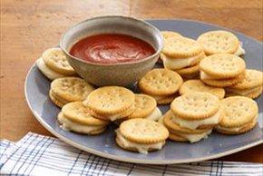 Baked Mozzarella Bites