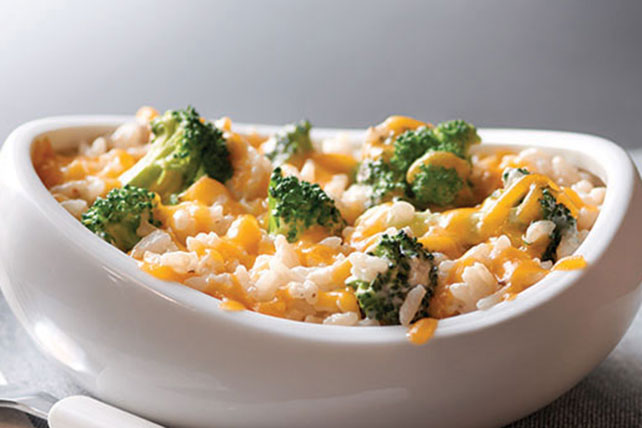 Make-Ahead Rice, Broccoli and Cheese Recipe