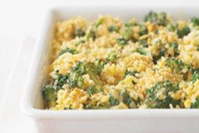 Make-Ahead Broccoli, Cheese & Rice
