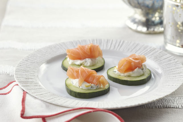 Smoked Salmon Rounds Image 1