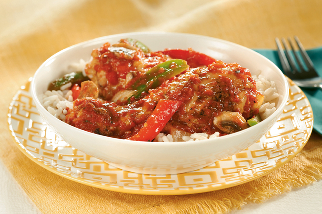 Slow-Cooker Chicken Cacciatore Image 1