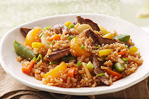 Beef-Fried Rice