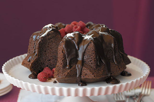 Triple-Chocolate Bliss Cake Image 1