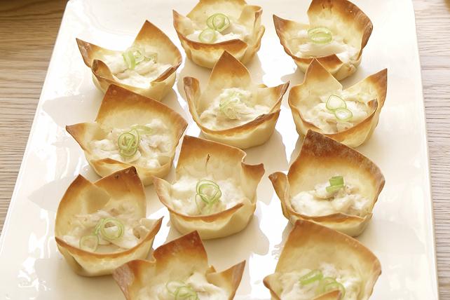 Coupes au crabe et au fromage Image 1