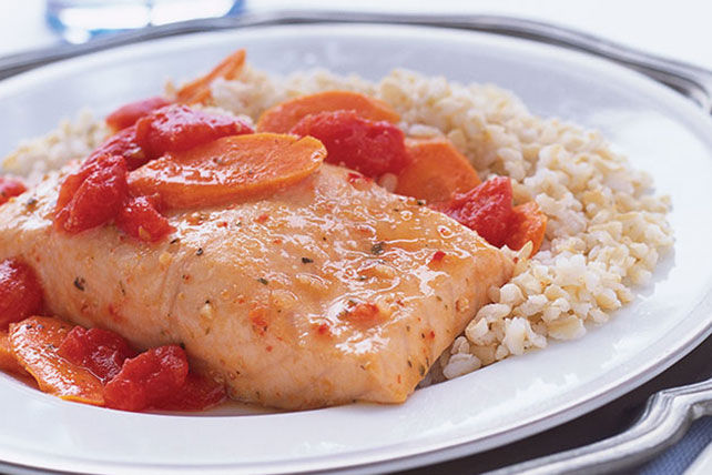 Easy Salmon Supper Image 1