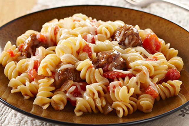 Quick & Cheesy Sausage Rotini