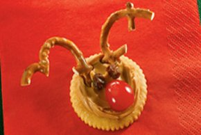 Peanut Butter Reindeer Treats