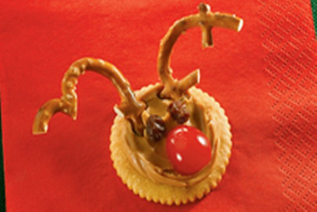 Peanut Butter Reindeer Treats Image 1