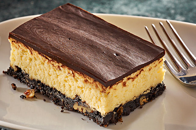 Ribbon Bar Cheesecake