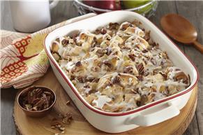 Cinnamon Roll-Apple Bake