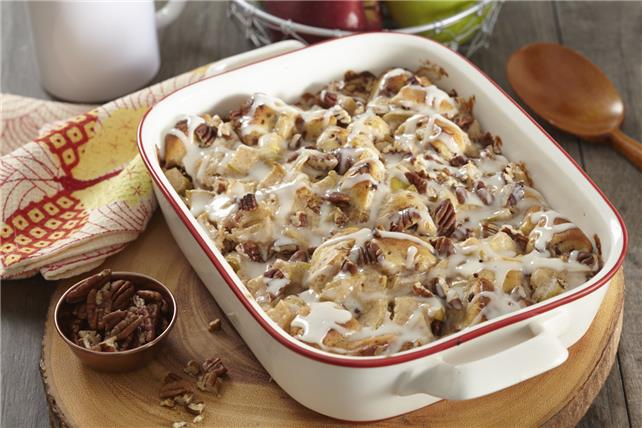 Cinnamon Roll-Apple Bake