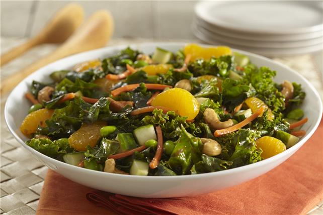 Asian Massaged-Kale Salad