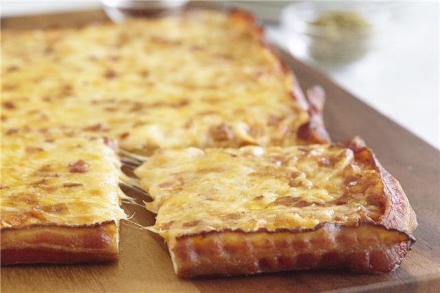 Bacon-Wrapped Pizza Image 1