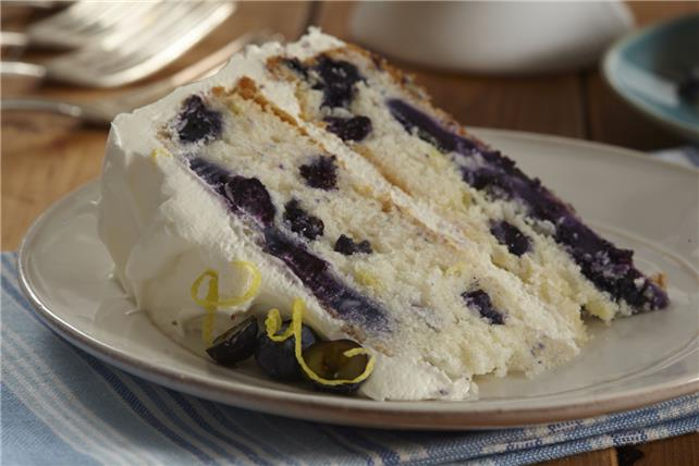 Blueberry-Lemon Layer Cake